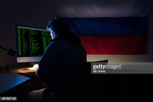 computer hacker - russia stock pictures, royalty-free photos & images