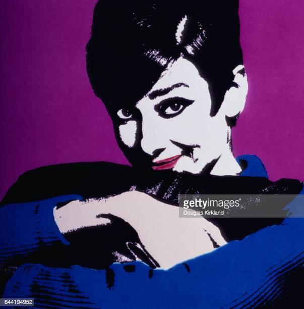 Computer Image of Audrey Hepburn