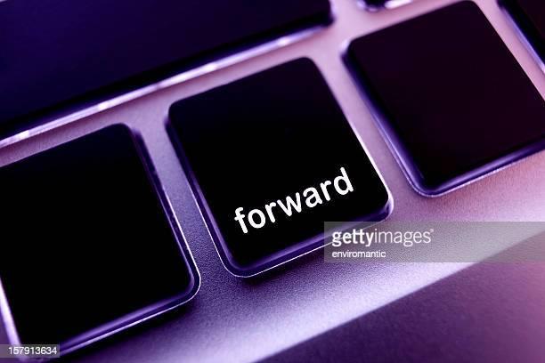 Computador portátil teclado'forward'botão.