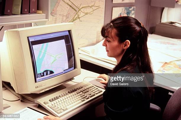 computer mapping - 1990~1999年 ストックフォトと画像