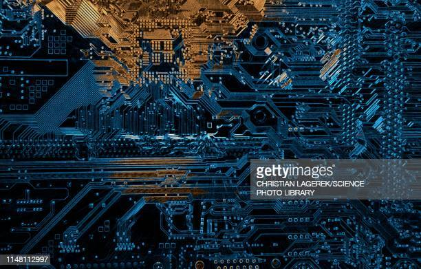 computer motherboard - circuit board stock pictures, royalty-free photos & images