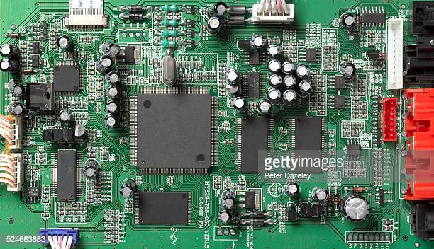 computer motherboard - computer chip stock pictures, royalty-free photos & images