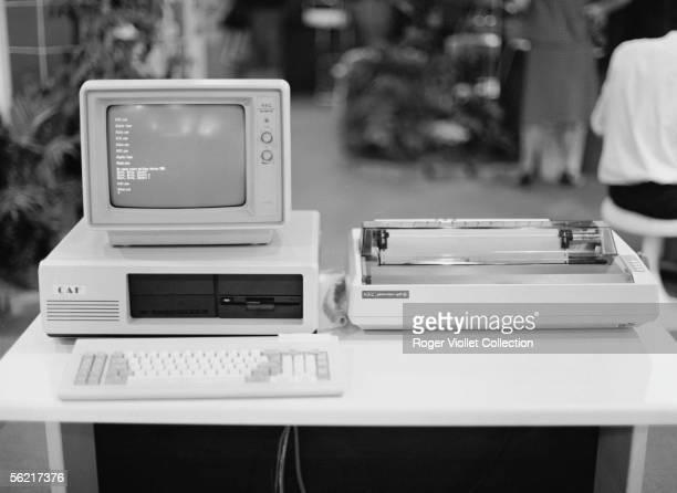 Computer Nec. Sicob, 1985.