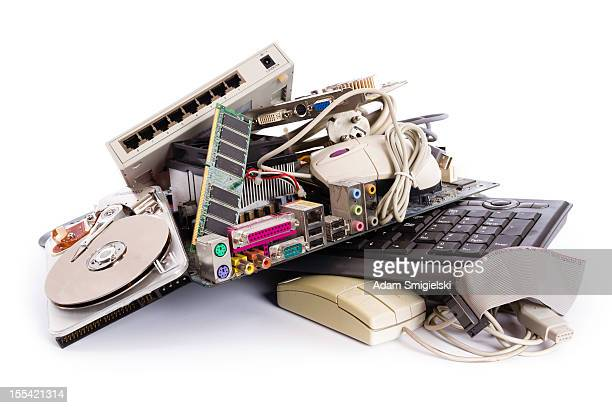 computer parts - toxic waste stock pictures, royalty-free photos & images