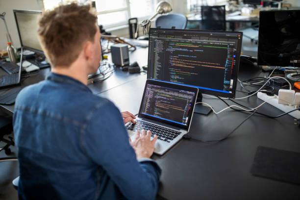 computer programmer working on new software program picture id1212006391?k=6&m=1212006391&s=612x612&w=0&h=7sItJ3QZ XJg