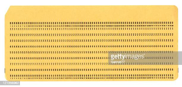 Computer Punch Card
