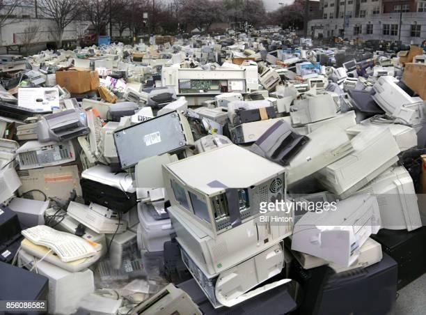 Computer recycle dump