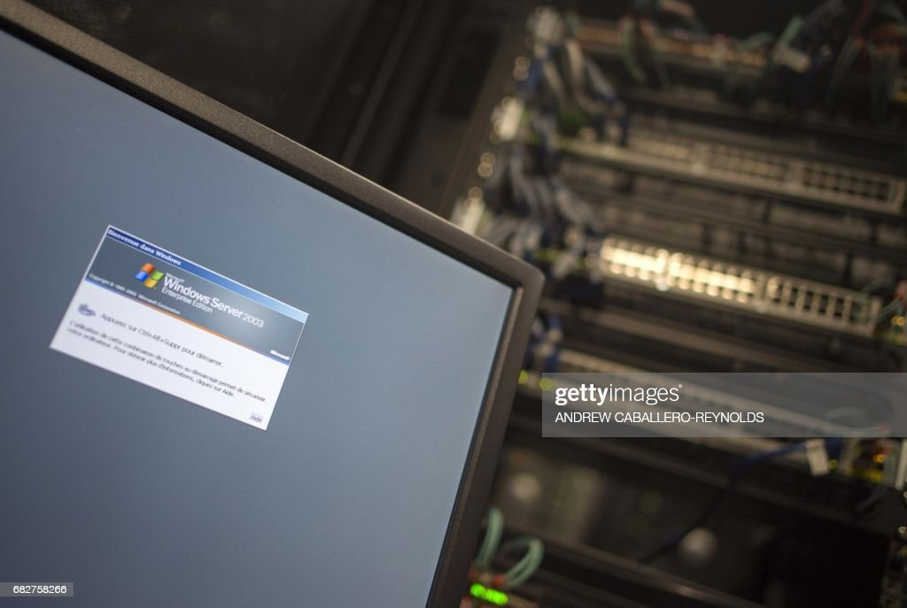 US-WORLD-CYBER-SECURITY-ATTACKS-HEALTH-HACKING-COMPUTERS : News Photo