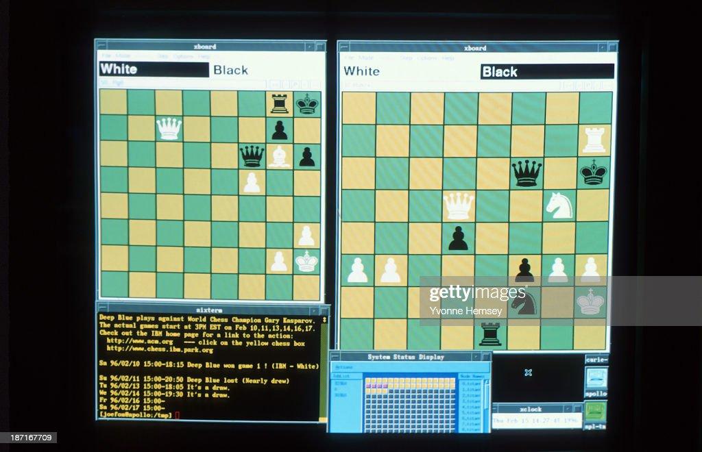 Deep Blue VS Garry Kasparov : News Photo