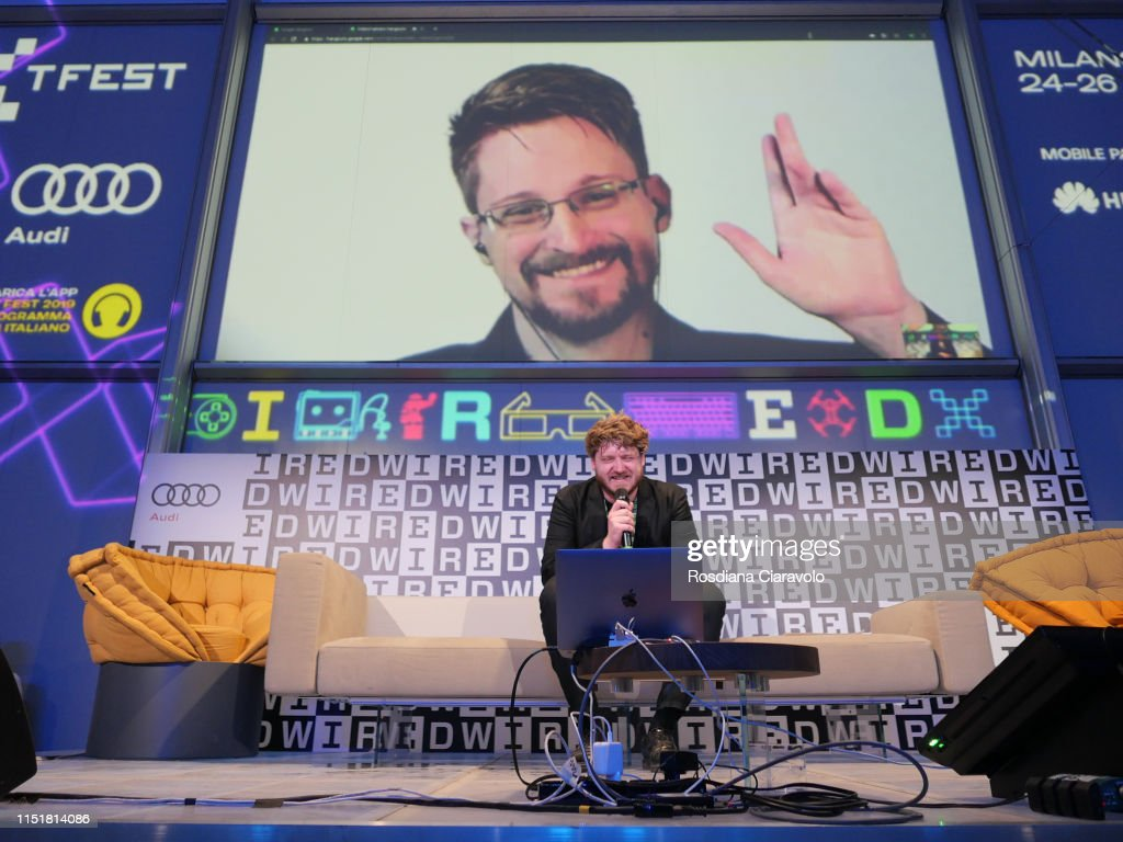 ITA: Paul Lewis and Edward Snowden At The Wired Next Fest 2019