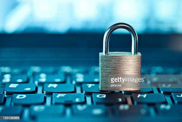 computer security - locking stock pictures, royalty-free photos & images