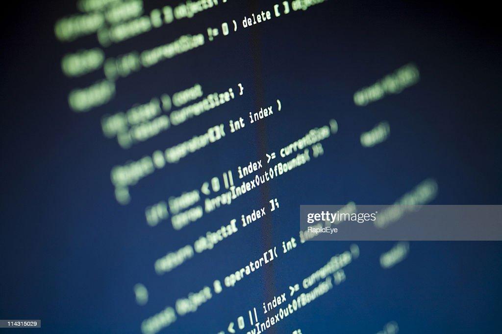 Computer source code : Stock Photo