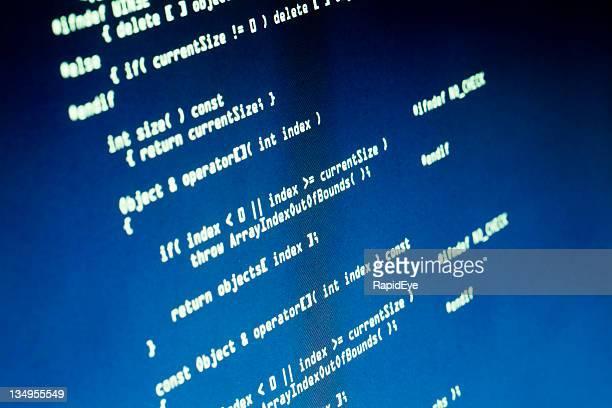コンピュータソースコード - 言語 ストックフォトと画像