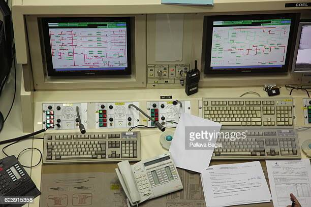 Computer terminals that control the launch of the Ariane5 rocket on October 5 2016 in Kourou French Guiana Interestingly the European countries...