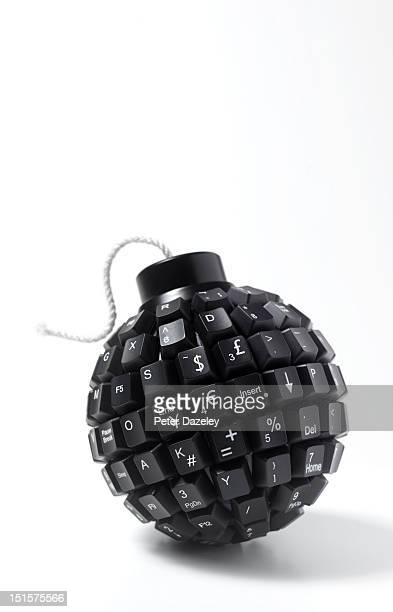 Computer time bomb with financial keys
