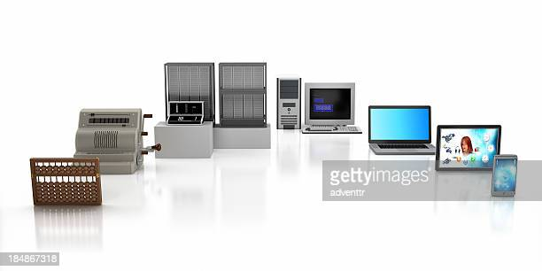 computer timeline - obsolete stock pictures, royalty-free photos & images
