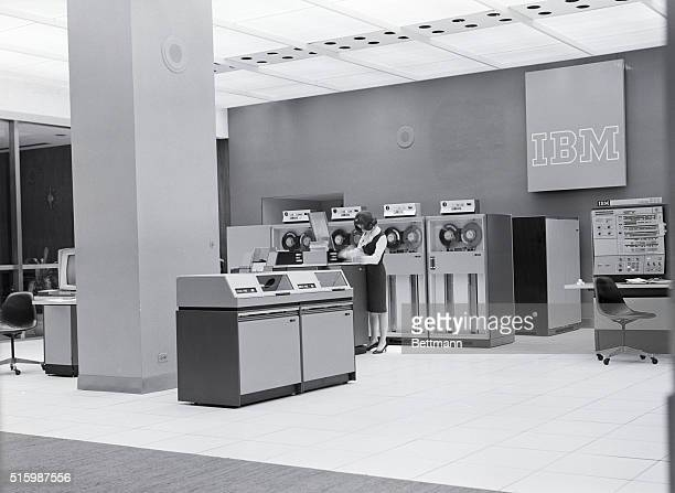 IBM computers and attendant