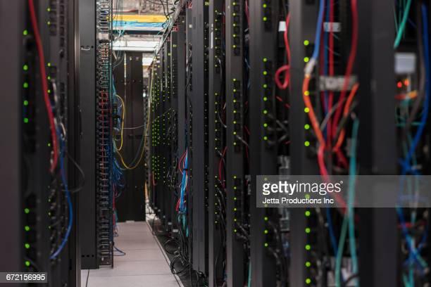 Computers in server room