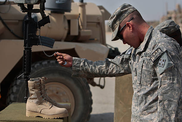 US Army Works in Mountain Bases in Afghanistan Photos and