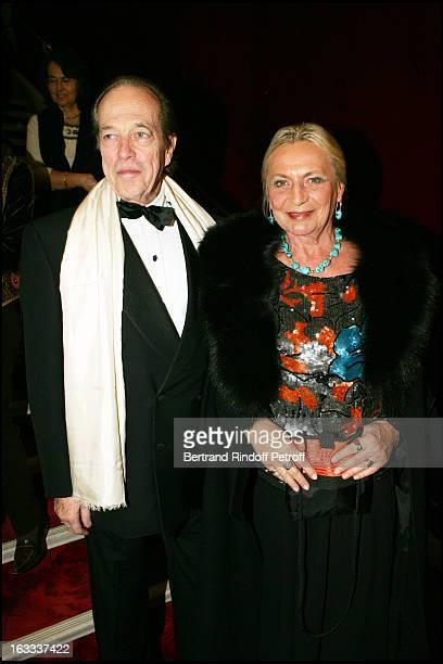 Comte and Comtesse De Paris at the Paris Gala Evening In Aid Of Princesse Margarita Of Rumania's Foundation