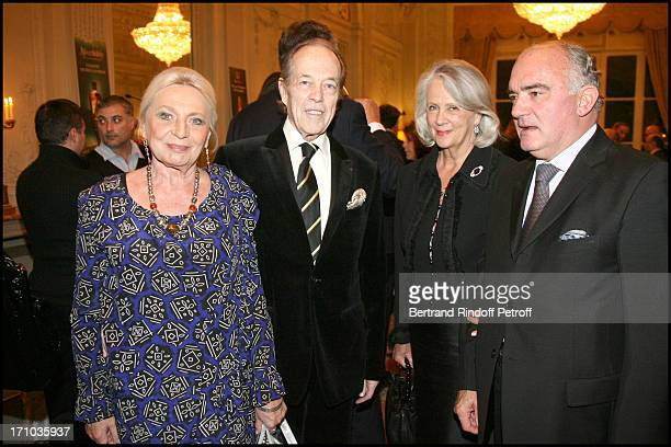Comte and Comtesse De Paris with Comte and Comtesse Jean Des Cars at Au Coeur De L' Ecosse Book Signing By Stephane Bern And Franck Ferrand At the...
