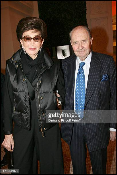 Comte and Comtesse Edouard De Ribes at Dinner Held In Honour Of Claude Lalanne At Musee D'Art Decoratif In Conjunction With His Retrospective...