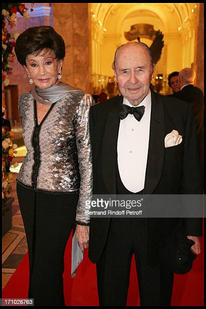 Comte and Comtesse Edouard De Ribes at The Dinner Hosted At The Petit Palais To CoInside With The Retrospective Yves Saint Laurent
