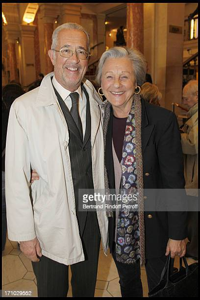 Comte and Comtesse Guy De Brantes at The Opening Night Of The Opera Treemonisha By Scott Jopin At The Theatre Du Chatelet In Paris