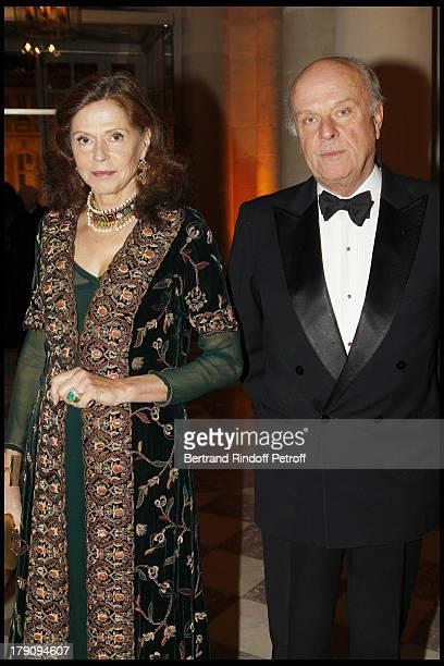 Comte and Comtesse Jean De Rohan Chabot at The18th Nuit Internationale De L'Enfance At Versailles Castle In Aid Of La Fondation Pour L'Enfance