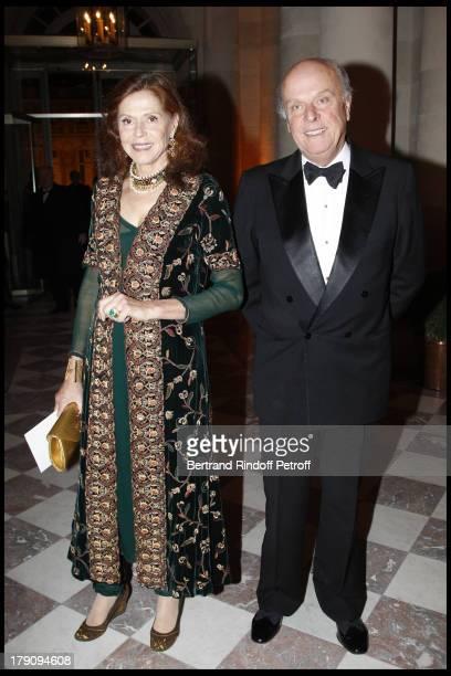Comte and Comtesse Jean De Rohan Chabot at The18th Nuit Internationale De L'Enfance At Versailles Castle In Aid Of La Fondation Pour L'Enfance .