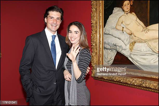Comte and Comtesse Jean Francois De Clermont Tonnerre at The Private View Of The Exhibition Manet Inventor Of The Modern At Musee D'Orsay To...