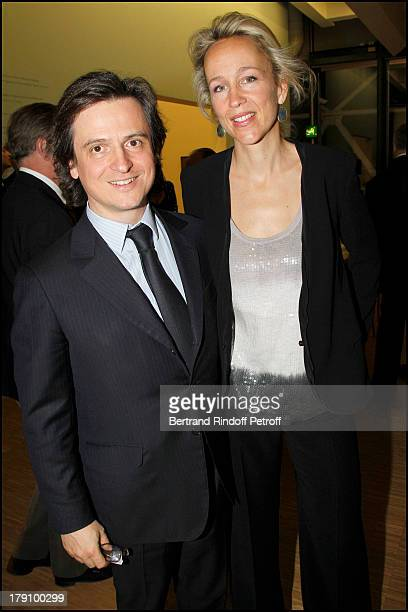 Comte and Comtesse Jean Guilaume D'Ornano at The Gala Dinner For The Society Of Friends Of The National Museum Of Modern Art Held At The Pompidou...