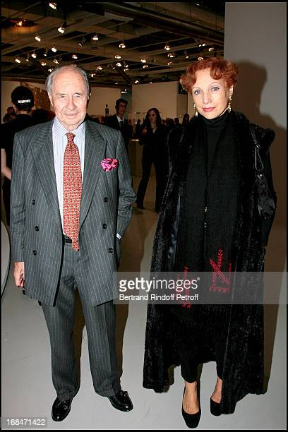 Comte Edouard De Ribes and Princesse Philomene D'Aremberg at Preview of L'Atelier D'Alberto Giacometti At Centre Pompidou In Paris