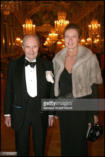 Comte Edouard De Ribes at The Gala Evening Held At Versaille Castle In Aid Of The Association Espoir Contre Le Cancer