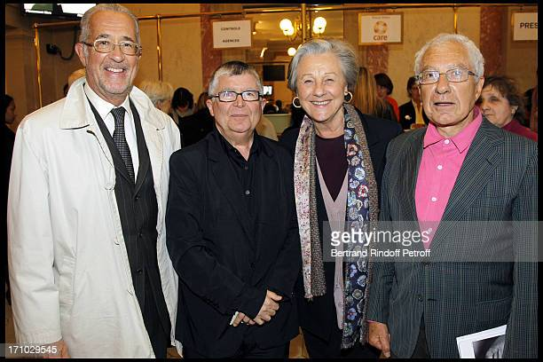 Comte Guy De Brantes Jean Luc Choplin Comtesse Marina De Brantes Pierre Larquie at The Opening Night Of The Opera Treemonisha By Scott Jopin At The...