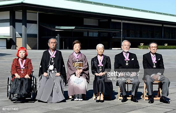 Comtemporary artist Yayoi Kusama literature scholar Mitsutoshi Nakano author Yumie Hiraiwa geneticist Tomoko Ota biologist and Nobel Prize laureate...