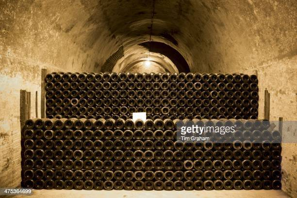 Comtes de Champagne which has been ageing 810 years in caves of Taittinger Champagne in Reims ChampagneArdenne France