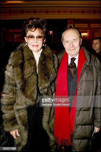Comtesse and Comte Edouard De Ribes at the Paris Premiere Of Matthew Bourne's Swan Lake At Theatre Mogador
