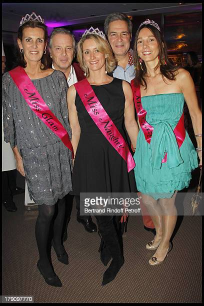 Comtesse Francois De La Beraudiere Prince Alexandre Poniatowski Marc Sthelin and wife Princesse Ariane Poniatowski at Pia De Brantes' 50h Birthday...
