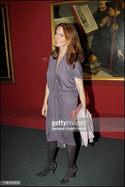 Comtesse Marie Brandolini D'Adda at The Private View Of The Exhibition Manet, Inventor Of The Modern At Musee D'Orsay To Fundraise For The Friends Of...