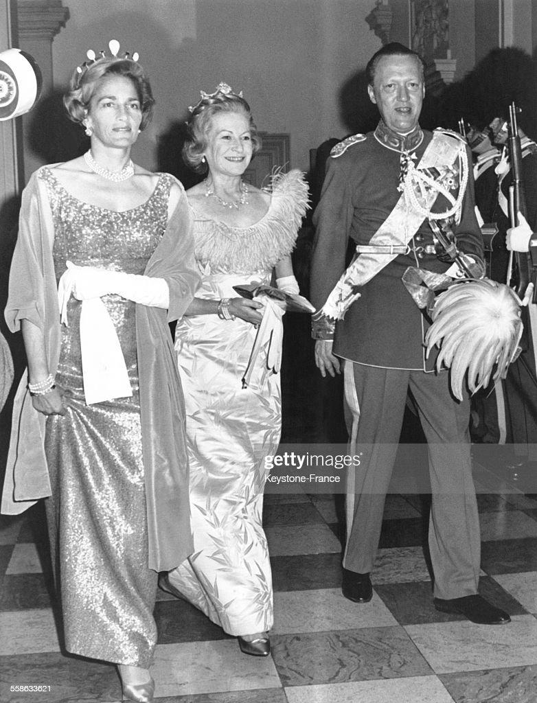 Le Comte Et La Comtesse De Rosenborg : News Photo