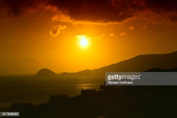 con dao sunset - michael stock photos and pictures