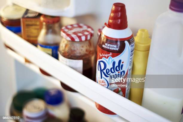 Conagra Brands Inc Reddi Wip is arranged for a photograph in the Brooklyn borough of New York US on Tuesday June 26 2018 Conagra Brands Inc agreed to...