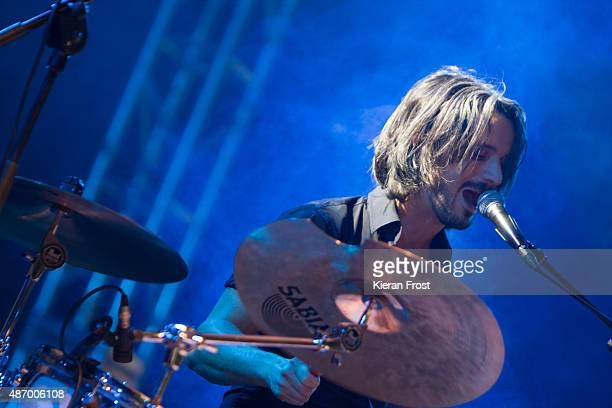 Conall O'Breachain of We Cut Corners performs at Electric Picnic on September 5, 2015 in Stradbally, Ireland.