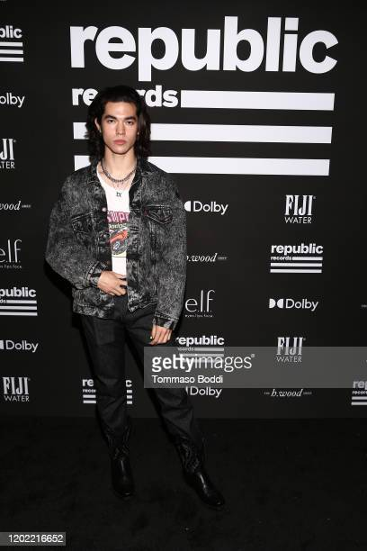 Conan Gray attends Republic Records Grammy After Party at 1 Hotel West Hollywood on January 26, 2020 in West Hollywood, California.