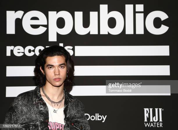 Conan Gray attends Republic Records Grammy After Party at 1 Hotel West Hollywood on January 26 2020 in West Hollywood California