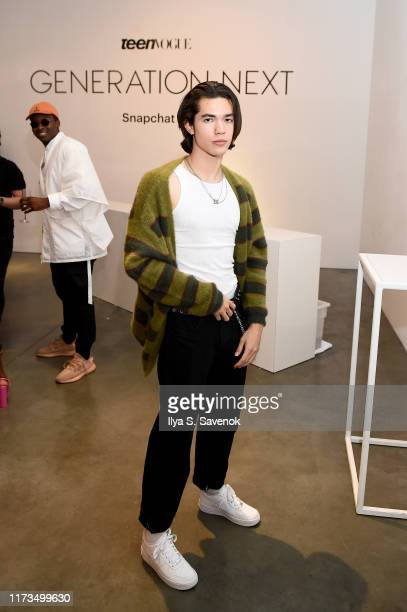 Conan Gray attends Teen Vogue Celebrates Generation Next Presented By Snapchat at Studio 525 on September 09 2019 in New York City