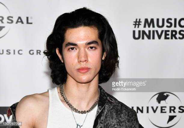 Conan Gray attends Universal Music Group Hosts 2020 Grammy After Party on January 26 2020 in Los Angeles California