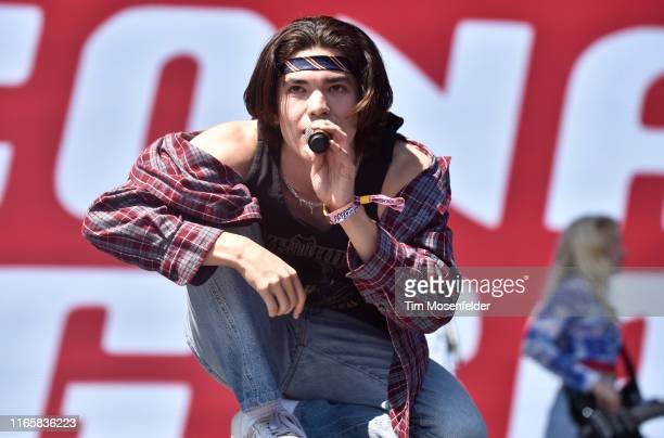 Conan Gray performs during 2019 Lollapalooza day two at Grant Park on August 02 2019 in Chicago Illinois
