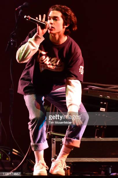 Conan Gray performs in support of his Sunset Season release at Golden 1 Center on February 20 2019 in Sacramento California